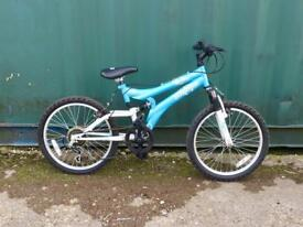 Girls silverfox mountain bike 20'' wheels £25