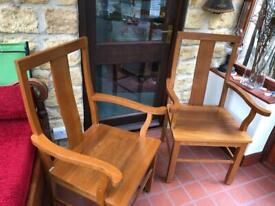 Quality teak carver chairs