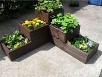 Decking planters