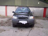 land rover freelander 5 door ,