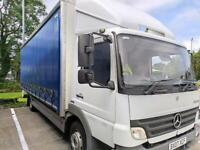 Mint condition 7.5t Mercedes Atego - Curtainsider