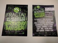 Flyer / leaflet / poster / sticker printing prints for event wedding nightclub office business