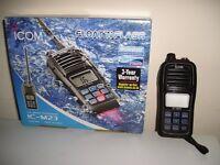 BRAND NEW, STILL IN BOX - VHF MARINE RADIO (IC-M23) FOR SALE