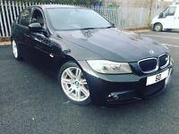 BMW 320D M SPORT 2.0 DIESEL AUTOMATIC 5DR SALOON 2010 [60] BLACK