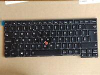 Lenovo Keyboard for T431s T440 T440s T440p T450 T450s T460 - Backlit UK English (04X0168 / 0C43973)