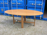 6ft x3ft oval Ikea dining table