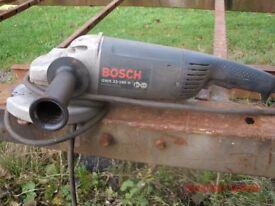 BOSCH 7 inch grinder