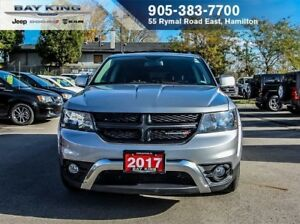 2017 Dodge Journey CROSSROAD AWD, HTD SEATS, REMOTE START, BLUET