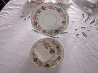 Vintage china trio possibly Victorian