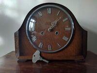Smiths Enfield Striking Mantel Clock 1940's