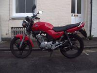 Yamaha YBR 2007 (07 reg) 124cc