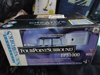 PC Surround sound speakers. Brand New boxed. Collect today cheap