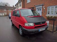 2003 VW T4 2.5 Tdi 88bhp long nose SWB registered camper van electric pack