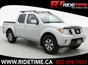 2012 Nissan Frontier PRO-4X - Crew Cab, Sunroof, Leather