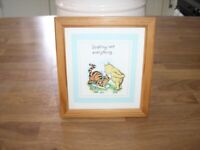 Winnie the Pooh pictures all immaculate condition. £4 each