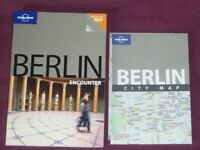 Lonely Planet Berlin Guide Book With Pull Out Map