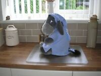Big cute Eeyore wearing nightshirt from pet & smoke free home. Immaculate condition. £7