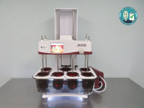 Distek 2500 Dissolution System with Warranty SEE VIDEO