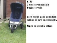 3 WHEELER MOUNTAIN BUGGY TERRAIN USED BUT IN GOOD CONDITION