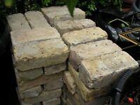 80 yellow reclaimed bricks