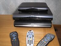 3 x SKY PLUS HD boxes with remotes £45 for all three