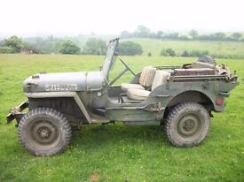 willys jeep or hotchkiss or ford gpw any condition top price paid