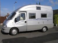 Hymer Exsis SK '05 2.8(146bhp) LHD FSH (12stamps+documents) Silver Unique Mini A Class VGC