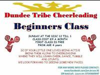 Dundee tribe cheerleading class beginners