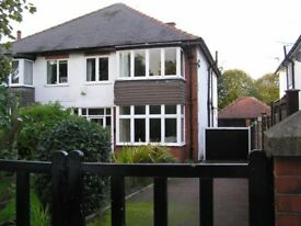 3 BED SEMI DETACHED IN ROUNDHAY For Sale In Leafy North Park Avenue Offers Over