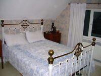 Double room with own bathroom in private house