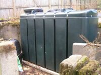 Nearly New - ESB Bunded Oil Tank 1000 Ltr, Apollo Oil Monitor, and 500 Ltr Heating Oil