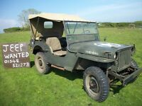 wanted willys jeep
