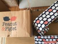 Peanut and Piglet Twin Feeding Pillow Worth £85