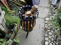 machado slim brazier with ash tray