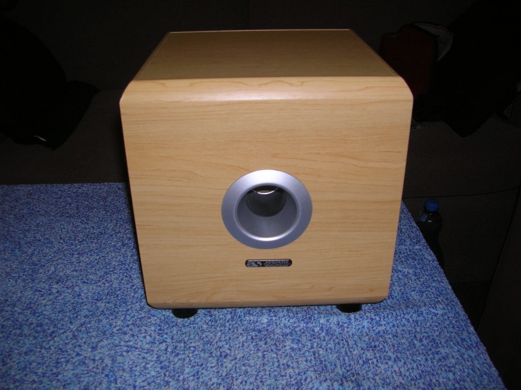 Acoustic Solutions Av Subwoofer Active Speaker Sub In
