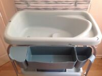 Chicco changing table and bath