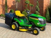 John Deere X116R Ride on mower - lawnmower - Stiga / Toro - Kubota