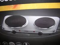 RUSSELL HOBBS ELECTRIC MINI HOB - BRAND NEW, UNOPENED