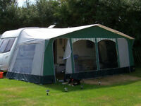 Apache Bilbao 980 Awning With Tall Annexe Sleeping Compartment