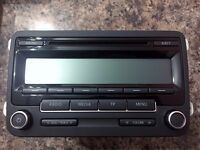 VW Stereo MK6 MK5 *CODE INCLUDED*BRAND NEW CONDITION*FITS OTHER CARS*