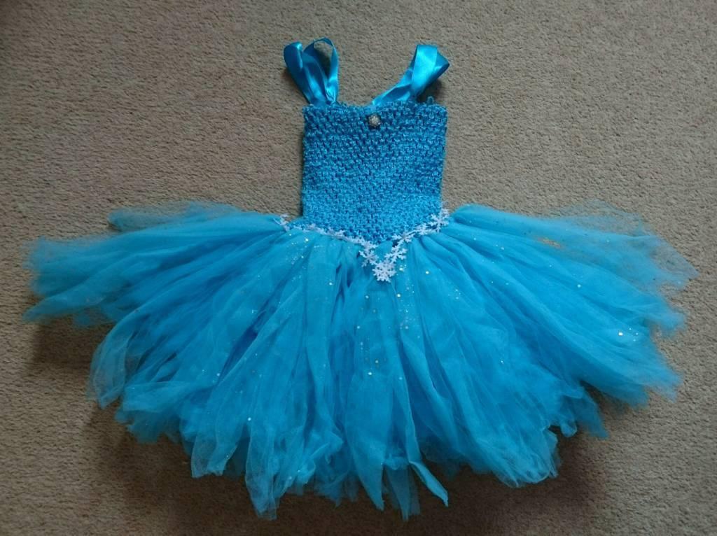 Elsa inspired dress