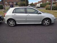 Perfect condition Toyota corolla no issues