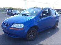 2005 Pontiac WAVE 1650$ TAX ET TRANSIT INCLUS 514-692-0093 AIR C