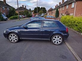 Audi A3 1.8T stage 2 mapped.