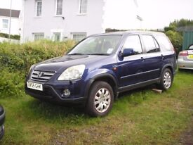 Honda CR-V 2.2 i-CTDi Sport Navy Blue, 6 Speed Very good Condition £2450 ONO.