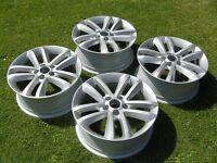 Set of 4 Genuine Vauxhall Vectra SRI 17in 5 Stud alloy Wheels