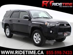 2015 Toyota 4Runner SR5 4WD - Leather, Sunroof, Navigation, 7 Pa