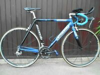 Adult Triathlon or general road bike - hardly used, in mint condition and goes like the wind