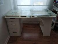IKEA modular desk