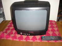 "14"" Portable TV (old style CRT Analogue)"
